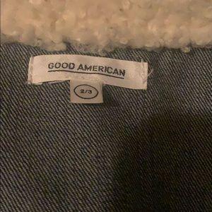 Good American Jackets & Coats - Good American Denim Jacket